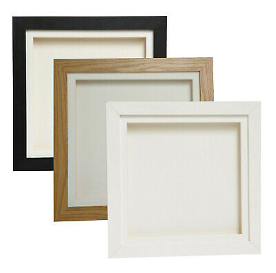 3D Deep Box Frame Range Picture Photo Frame Display Various Sizes 12x12 A4 • 11.63£