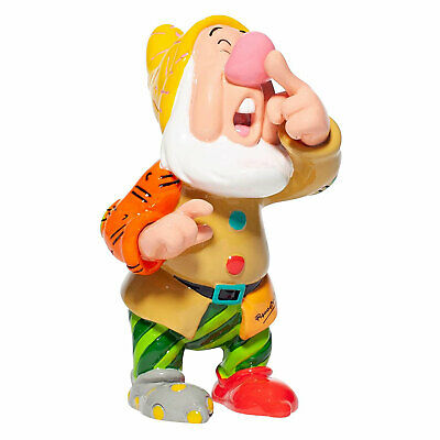 Disney Britto - Sneezy (Snow White And The Seven Dwarfs) Mini Figurine *NEW* • 17.99£