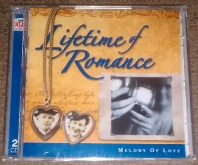 Various - Lifetime Of Romance: Melody Of Love (Time Life 2 CD Set, 2006) *New • 21.49£