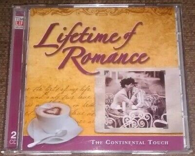 Various - Lifetime Of Romance: The Continental Touch (Time Life 2 CD Set, 2007) • 39.99£