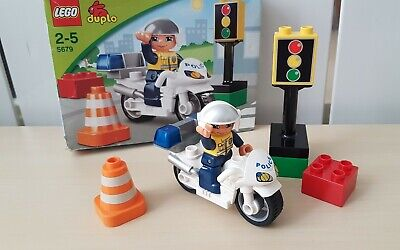 £16 • Buy Lego Duplo 5679 Police Bike Set Complete And Boxed Excellent Condition