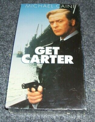 Get Carter, Michael Caine (1971), VHS Tape Movie NEW SEALED 2000 Warner Home  • 6.43£