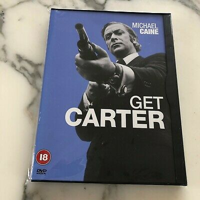 Get Carter [dvd] 1971 / 2000 Michael Caine Brit Crime Classic Very Rare Edition! • 9.95£