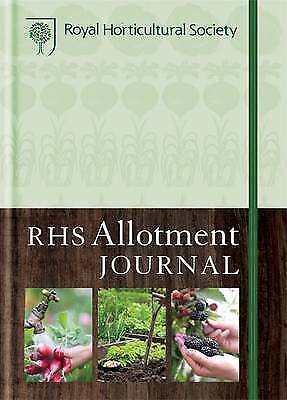 RHS Allotment Journal The Expert Guide To A Productive Plot Hardback Book As New • 6.99£