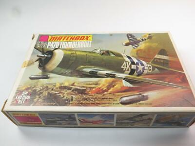 MATCHBOX 1/72 MODEL AIRCRAFT KIT PK-22 P47D Thunderbolt Unmade In 1st Issue Box • 14.99£