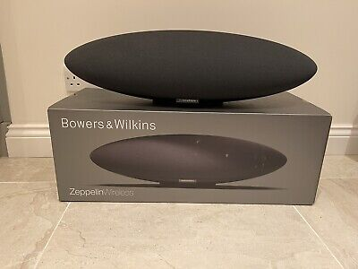 B&W Bowers & Wilkins Zeppelin Wireless Apple AirPlay Bluetooth Spotify Connect • 395£