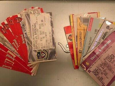 £2.99 • Buy ARSENAL MATCH TICKETS 2002/2003 Home & Away £3 Each -  Choose Quantity Required