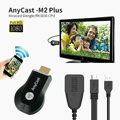 AU19.34 • Buy 4K AnyCast M2 Plus WiFi Display Dongle HDMI Media Player Streamer TV Cast Stick