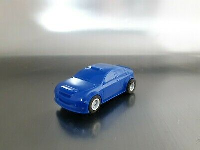 Micro Scalextric Rally Car Rare Blue Working 1:64 Free Postage • 14£