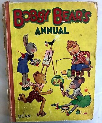 Vintage Collectable Childrens' Annual Hardback Bobby Bear's Annual • 4£