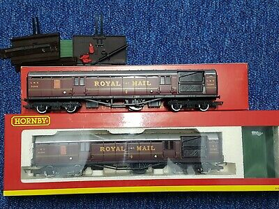 Rake Of 2 X Hornby LMS Operating Royal Mail Coaches. R.4155 • 40£