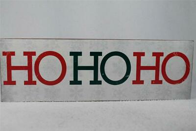 £12.25 • Buy Wooden Word Block 'HoHoHo' About Face Design #181624 Hang Or Set NEW!