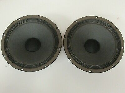 $ CDN99.99 • Buy Philips DGF8 S5574 Pair Of 10 Inch  Woofer For Vintage Speaker System Part