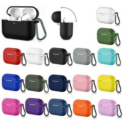 $ CDN2.91 • Buy For Apple Airpods Pro 3 Wireless Charging Silicone Case Cover Protective Skin
