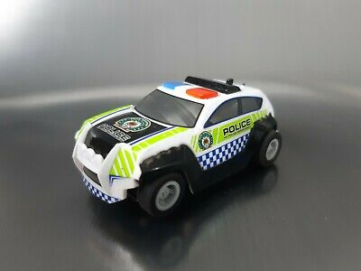 Micro Scalextric Car Police SUV Pursuit Working 1:64  Free Postage • 10£