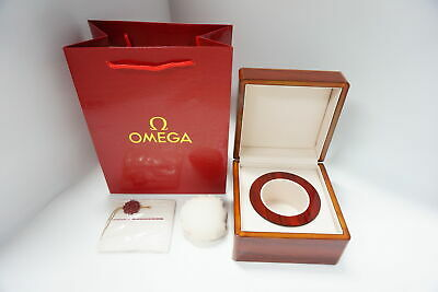 Omega Watch Box With Luxurious Wooden • 59.99£