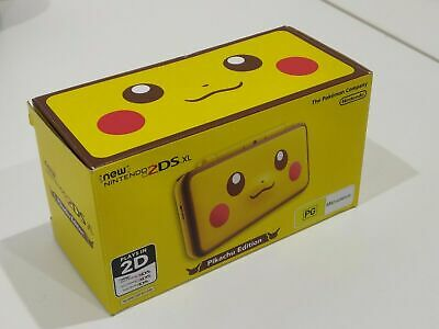 AU400 • Buy Nintendo 2DS XL Pikachu Edition Console LIMITED EDITION - BOXED