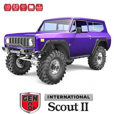 Redcat GEN8 V2 Scout II 1/10 Electric RC 4WD Off-Road Scale Crawler RTR Purple • 215.05£