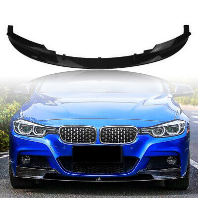 AU127 • Buy Front Bumper Lower Lip For 2012-2018 BMW F30 3 Series M Style  2013 2014 2015 M