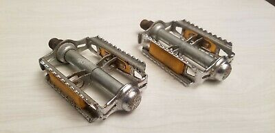 AU76.08 • Buy Vintage KKT Rat Trap Pedals 9/16 3pc Old BMX W/ Reflectors RT-E