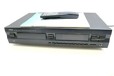 YAMAHA CDX-493 Compact Disc CD Player - Remote & User Manual * SERVICED * • 125£