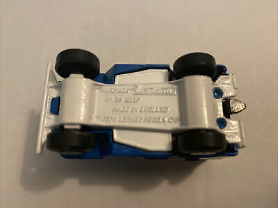 $24 • Buy Matchbox Superfast No5 US MAIL TRUCK JEEP In BLUE With   RARE No38 JEEP   BASE