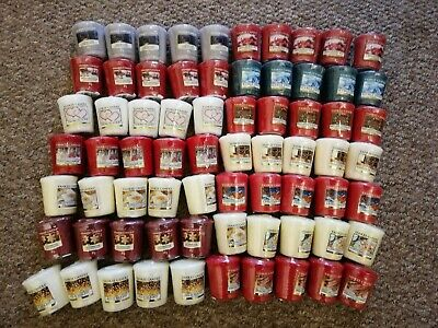 Yankee Candle New Bundle X70 Votive Sampler Candles (CHRISTMAS FRAGRANCES)  • 43.89£