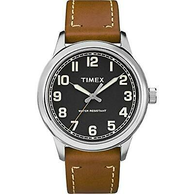 Timex TW2R82100, Men's Easy Reader, Brown Leather Watch • 22.01£