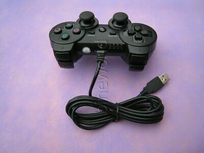 Wired USB Cable Game Controller Gamepad For PS3 • 9.99£