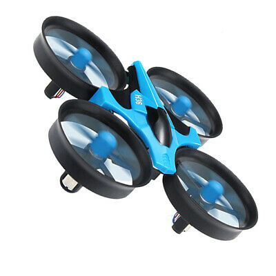 AU32.44 • Buy For JJRC H36 2.4G 4 Channel Infrared Control RC Drone Toy & 4 Blue Propeller