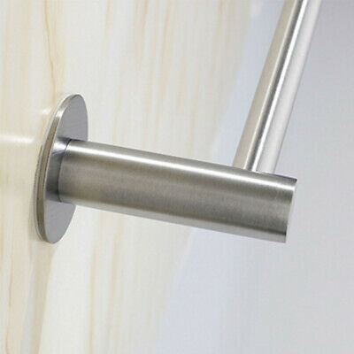 AU8.39 • Buy Mounted Toilet Paper Roll Holder Stainless Steel Hook Bathroom Wall Storage AU