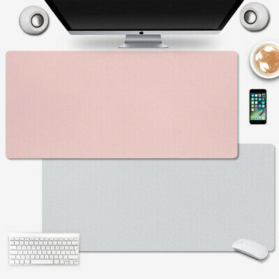 £18.39 • Buy PU Leather Office Desk Protector Mat Non Slip Mouse Laptop Pad Large 120*60cm UK