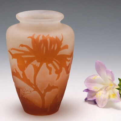 £736 • Buy A Galle Cameo Glass Vase 1906-14