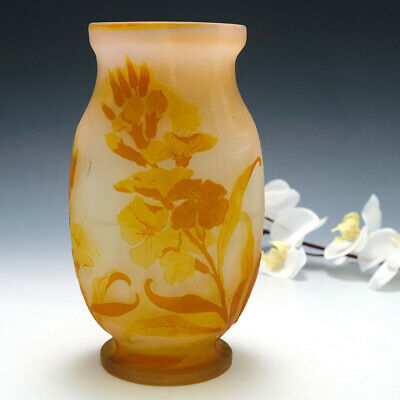 £1950 • Buy An Emile Galle Cameo Glass Vase C1900