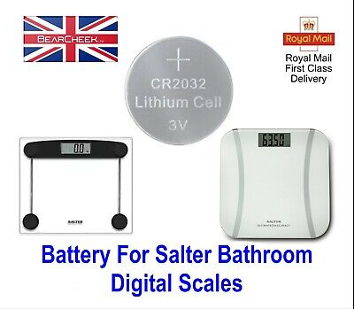 Battery For Salter Digital Bathroom Weighing Scales - Replacement Battery • 1.99£