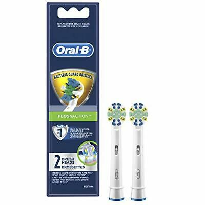 AU66.58 • Buy Oral-B Floss Action Electric Toothbrush Replacement Brush Heads Refill 2 Count