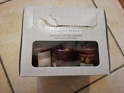 YANKEE CANDLE  Box Of 18 Votive Sampler Candles (GLITTERING STAR)  • 6.50£