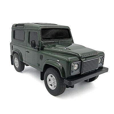 Remote Control Land Rover Defender RC Car Working Lights 1:24 Scale Model Toy • 16.55£
