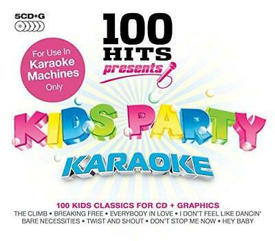 100 Hits Presents - Kids Party Karaoke, Various Artists, Good Box Set • 4.16£
