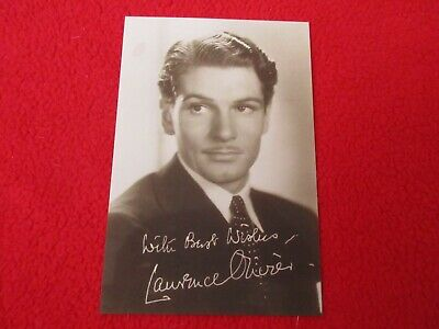 Laurence Olivier Signed Photo Pre-print  • 2.20£