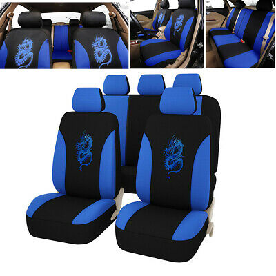 $ CDN65.05 • Buy Universal Protectors Full Set Auto Seat Covers Fit For Car Truck SUV Accessories