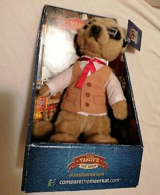 Yakov Meerkat Toy With Certificate. And Tag.  • 2£