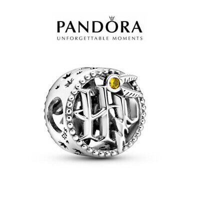 Authentic PANDORA 2020 HARRY POTTER OPENWORK ICONS CHARM 925 STERLING SILVER ALE • 7.93£