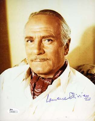 Laurence Olivier Jsa Coa Hand Signed 8x10 Photo Authenticated Autograph • 88.92£
