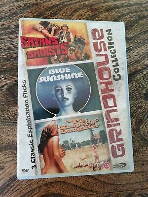 Dvd - 3 Classic Grindhouse Films Exploitation Collection • 7.99£