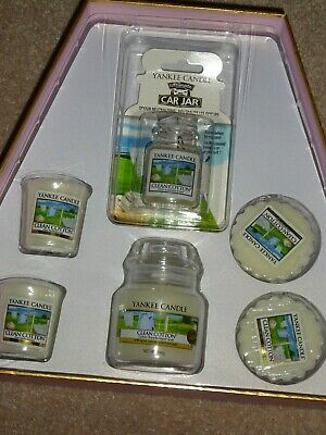 Brand New Yankee Candle Clean Cotton Christmas Gift Set • 10£