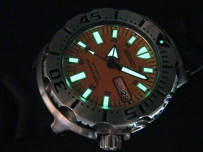 $ CDN376.39 • Buy SEIKO 7S26-0350 MONSTER 1st Gen Water Proof Tested All Original Except Strap