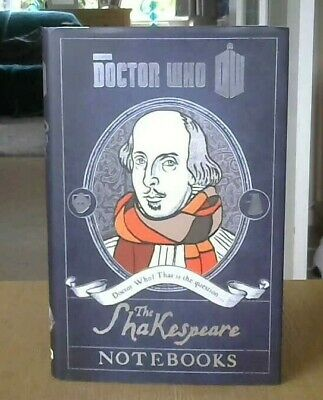 Doctor Who: The Shakespeare Notebooks. (Hardback 2014) • 3£