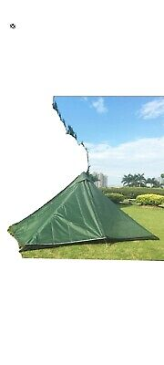Brand New 1-2 Man Trekking Pole Tent, Hiking, Backpacking, Camping, • 49.99£