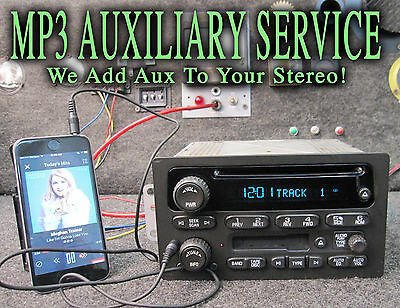 $174.99 • Buy 03 04 05 06 CHEVY GM GMC TRUCK SUV STEREO CD DISC CASS TAPE Player MP3 IPOD AUX